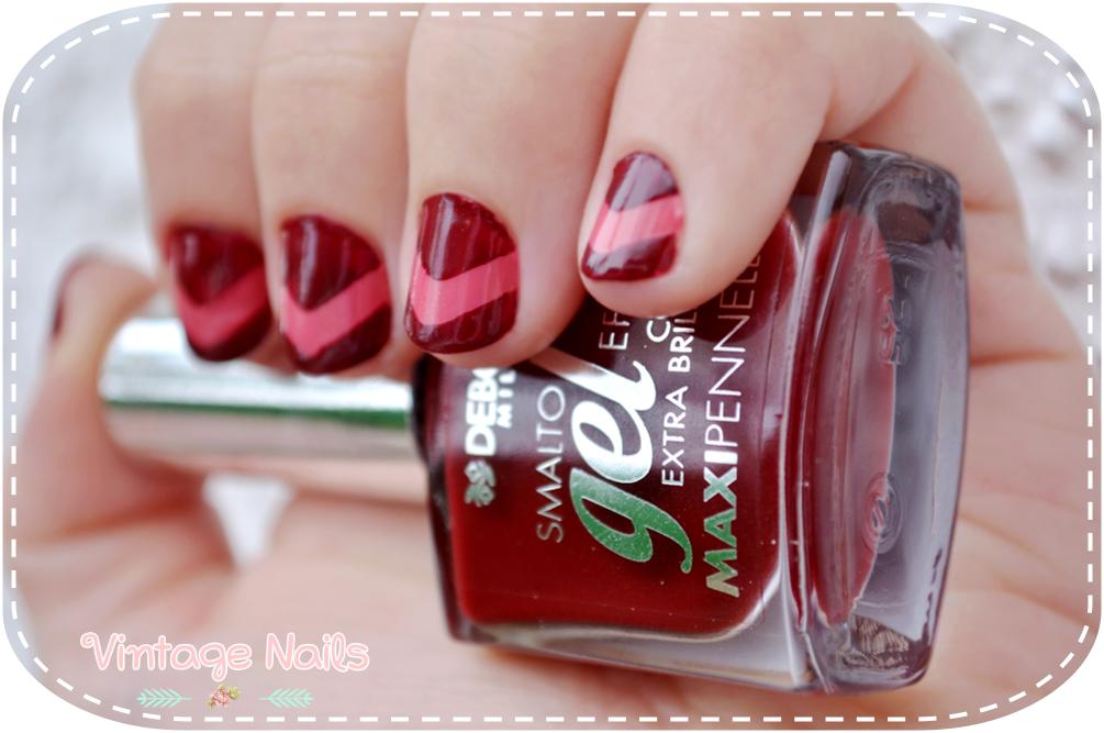 nail art, manicura, manicure, chevron