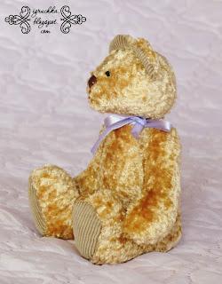 Мои любимые игрушки, текстильная кукла, мишка