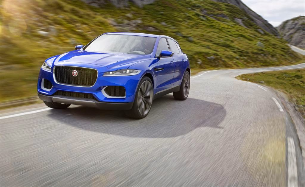 The Jaguar C-X17 concept