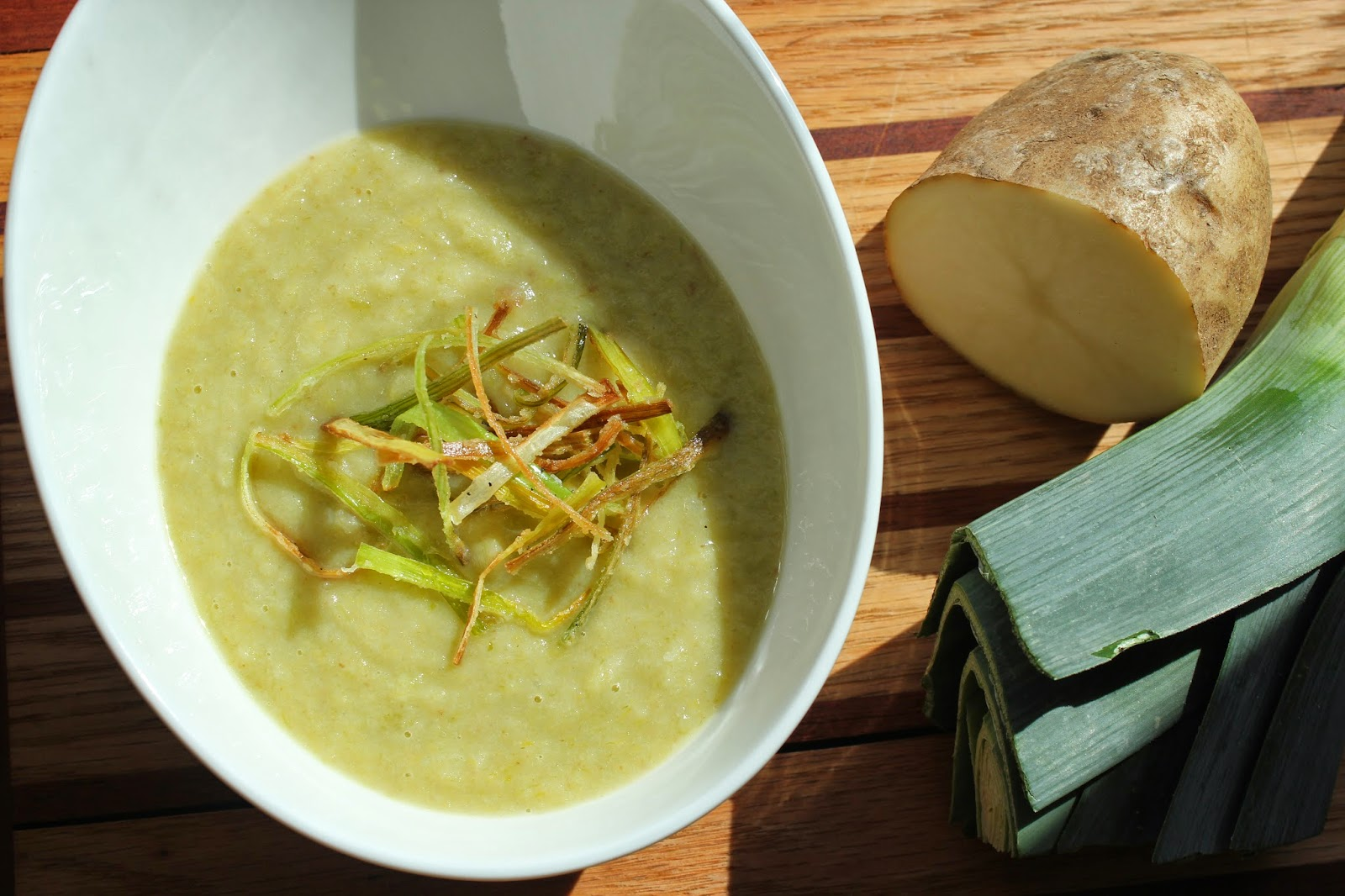 Potato-leek soup