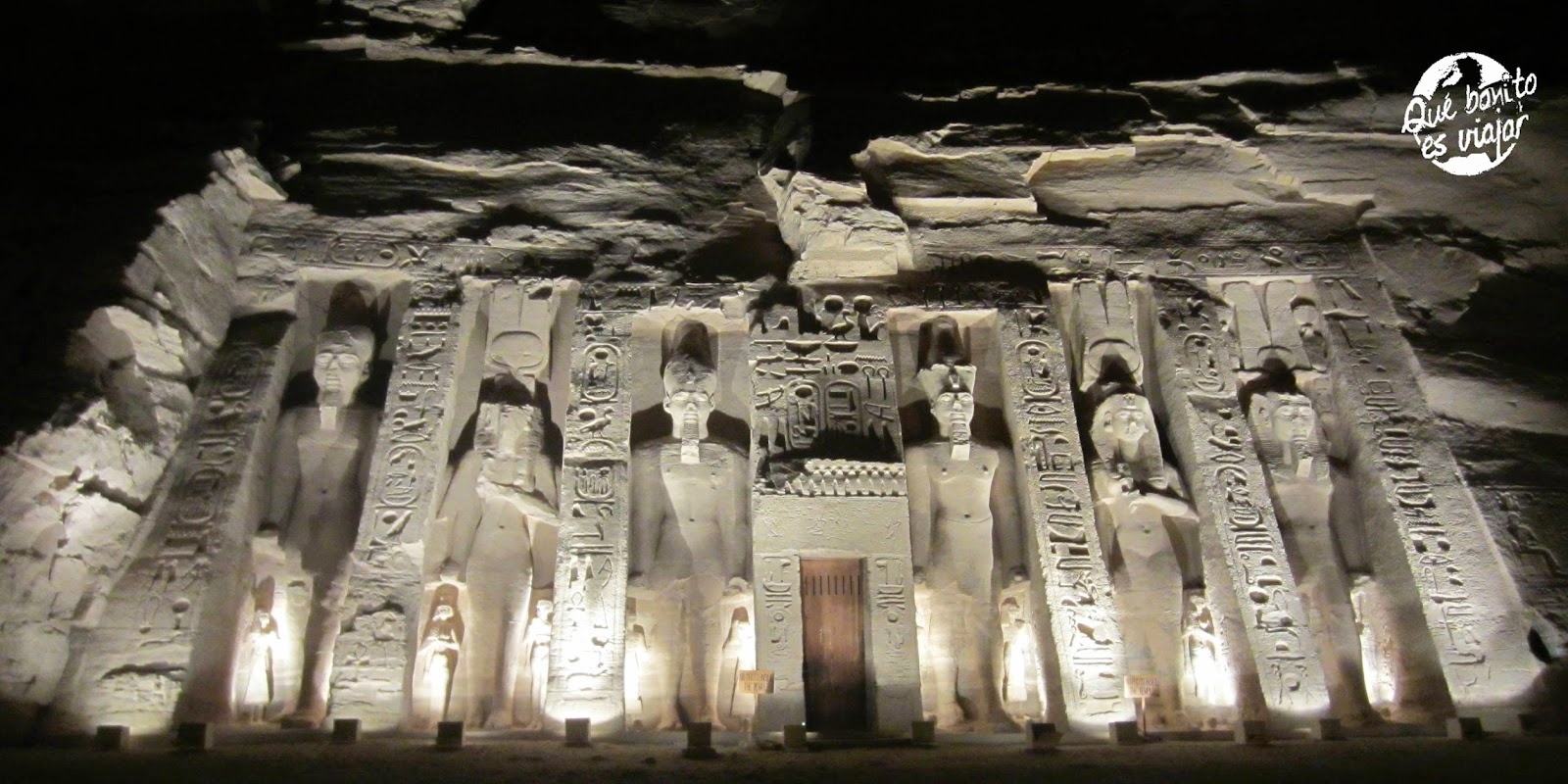 Abu Simbel Templo de Nefertari