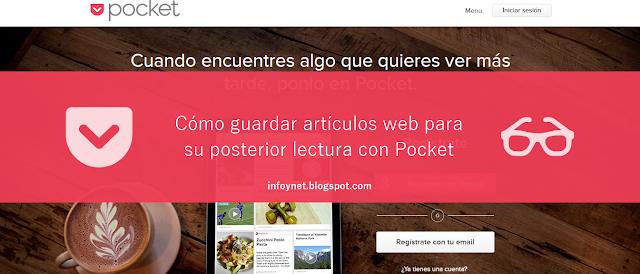 Cómo guardar artículos web para su posterior lectura con Pocket