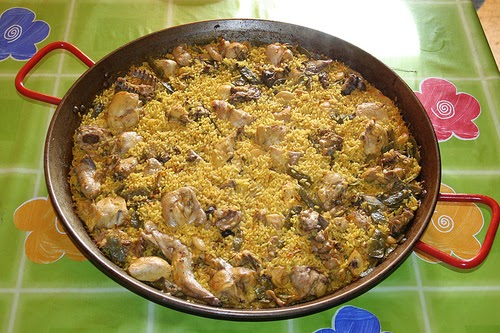 Cocina facil rapida y sana paella con carne una - Cocina rapida y facil ...