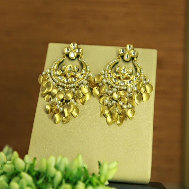 up amrapali plated gold pernia at pin only pop shop s earrings traditional available