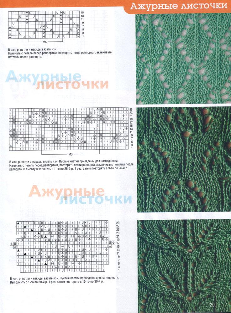 Вязание крючком. Схемы вязания, описания и узоры крючком
