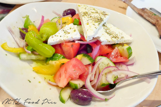 Greek Salad - Feta, Tomato, Cucumber, Olive, Oregano