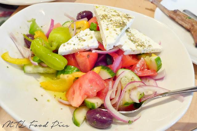Greek Salad - Feta, Tomato, Cucumber, Olive, Oregano
