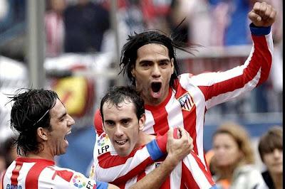 Falcao y Atlético de Madrid siguen imparables