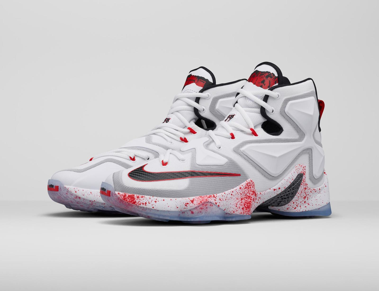 Introducing the Lebron 13 Horror Flick Shoe