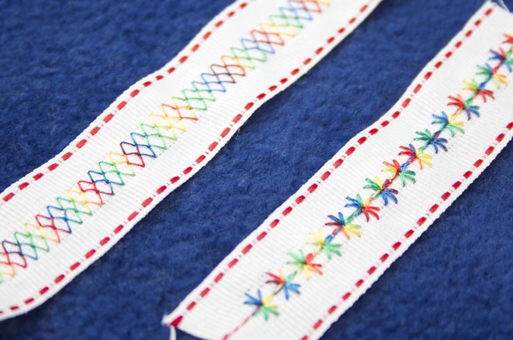 Sew Can Do Crafty Gear 411 Decorative Stitching On Ribbon