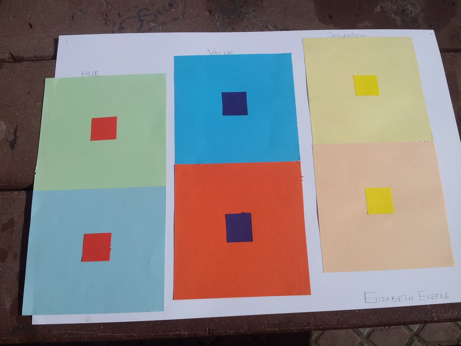 Color theory josef albers color interaction project for Josef albers color theory