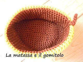 La matassa e il gomitolo cestini portatutto autunno - Cestini portatutto ...