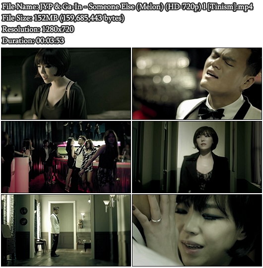 MV JYP & Ga-In - Someone Else (Melon Full HD 1080p)