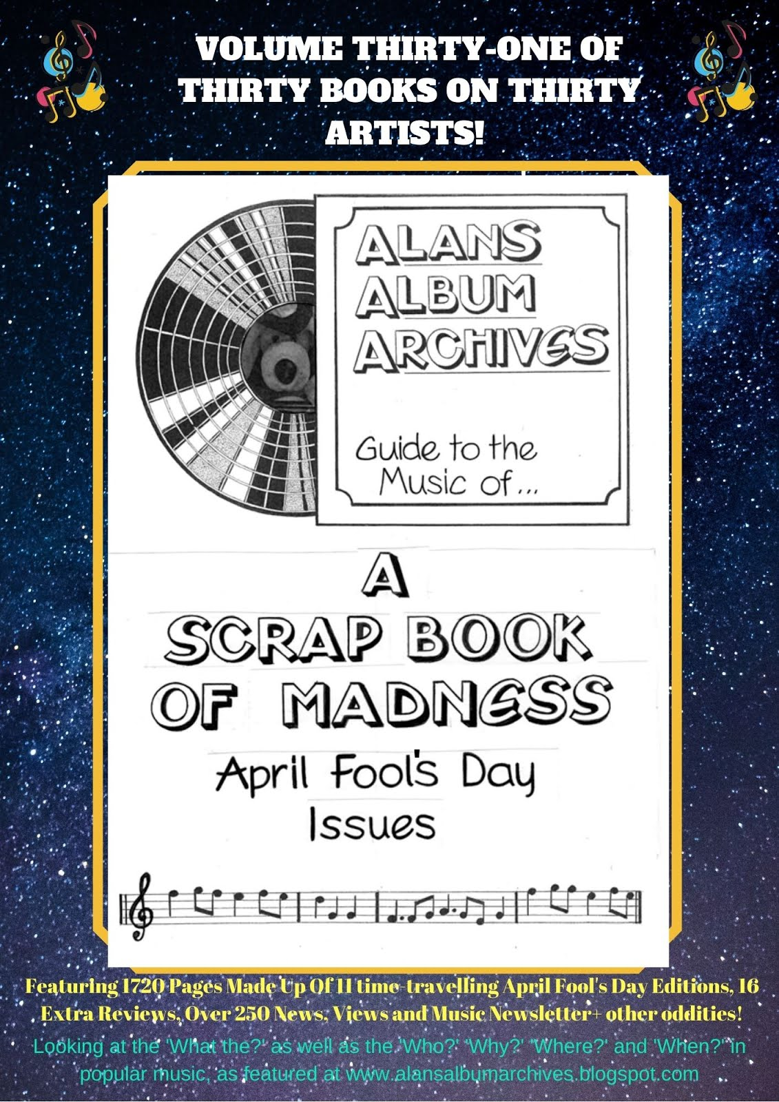 'A Scrapbook Of Madness - The Alan's Album Archives Guide To...Alan's Album Archives'