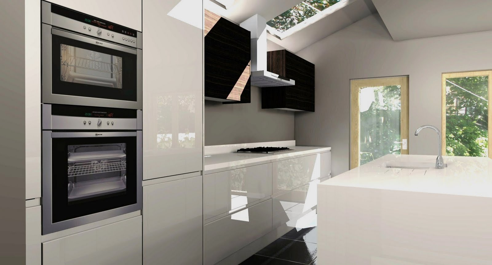 Handleless Kitchens Designs