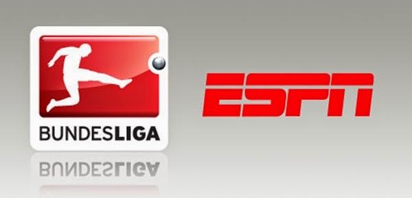 Escala dos jogos do Campeonato Alemão nos canais ESPN