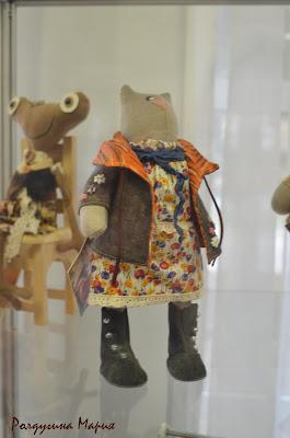 выставка кукол в узловском музее