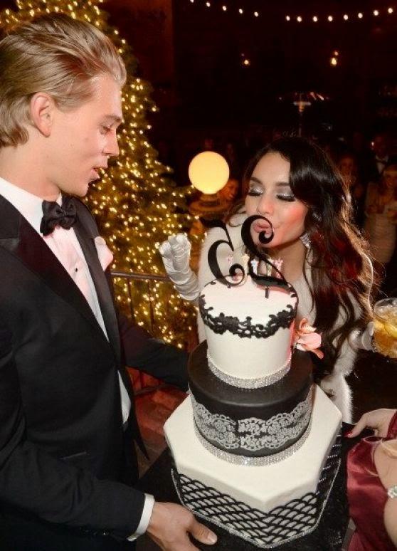 فانيسا هدجنزتحتفل بعيد ميلادها ال25 في لوس انجلوس