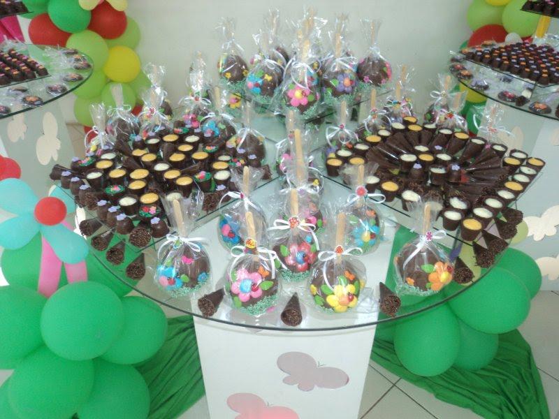 festa jardim infantil:Trufas da Paula: Festa infantil tema Jardim encantado