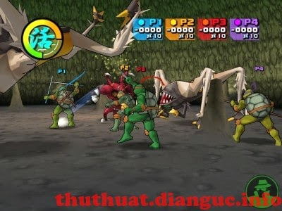 Download game Ninja Rùa 2004