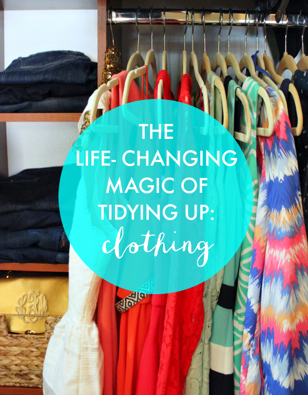 Life Changing Magic of Tidying Up: Clothes | A progress check in for decluttering with the KonMari method
