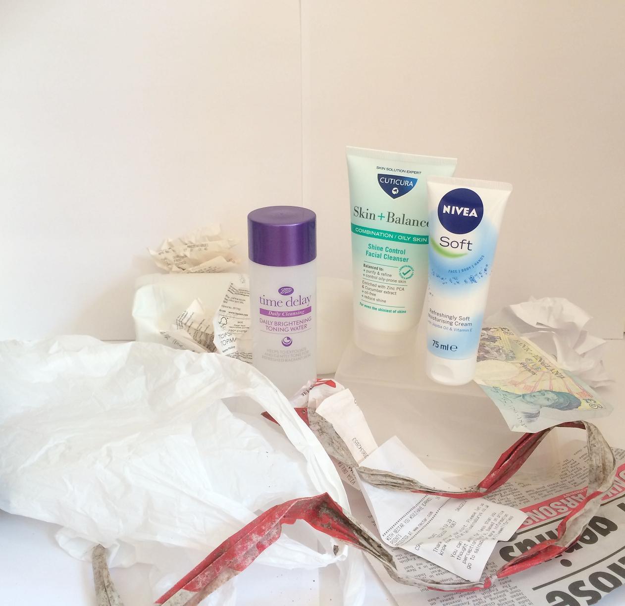 £5 skincare routine