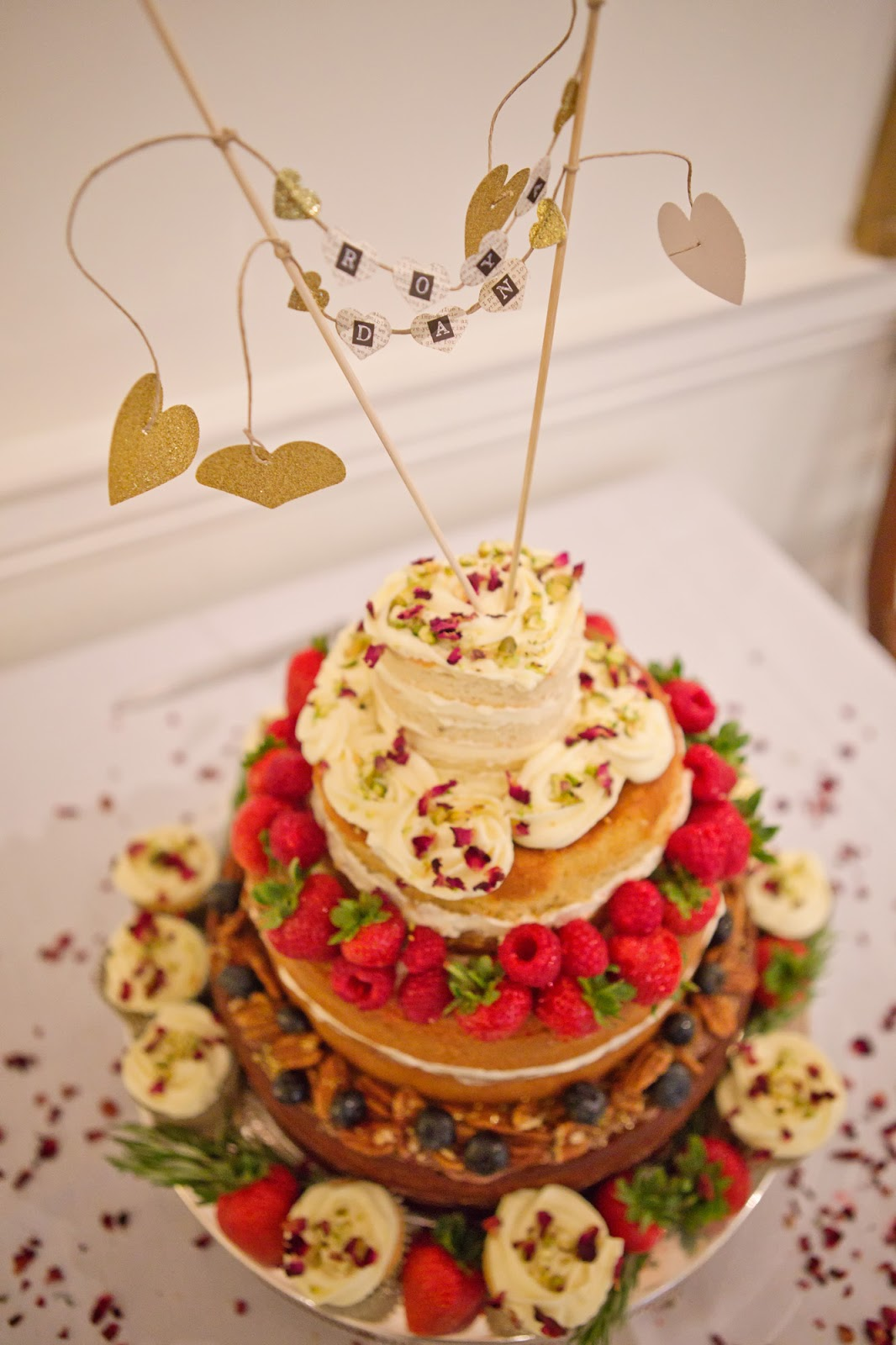 AnnieThing for Food: A Naked Wedding Cake
