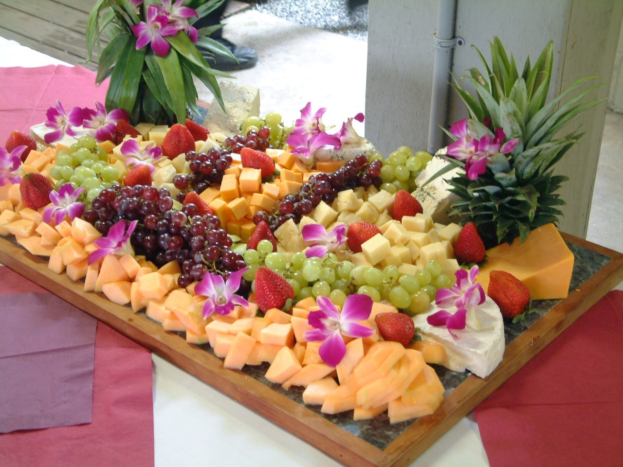 Cheese platters for wedding
