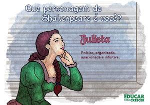 Que personagem feminina de Shakespeare é você?