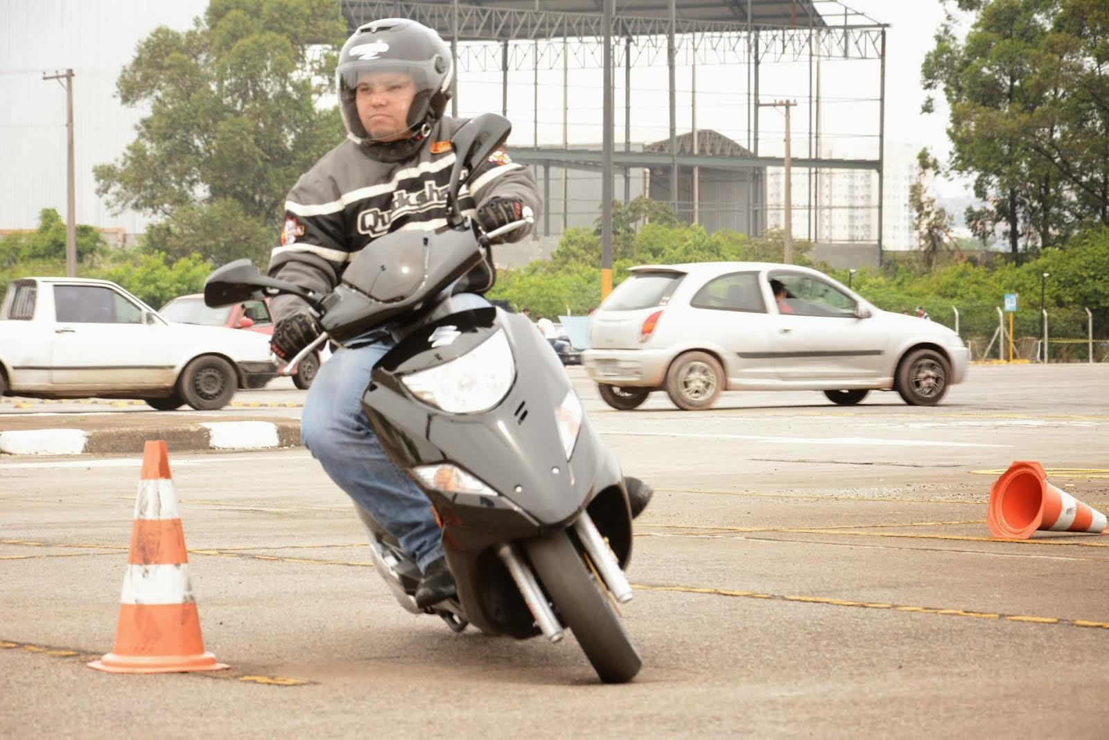 Agilidade com estabilidade, isso é a Scooter