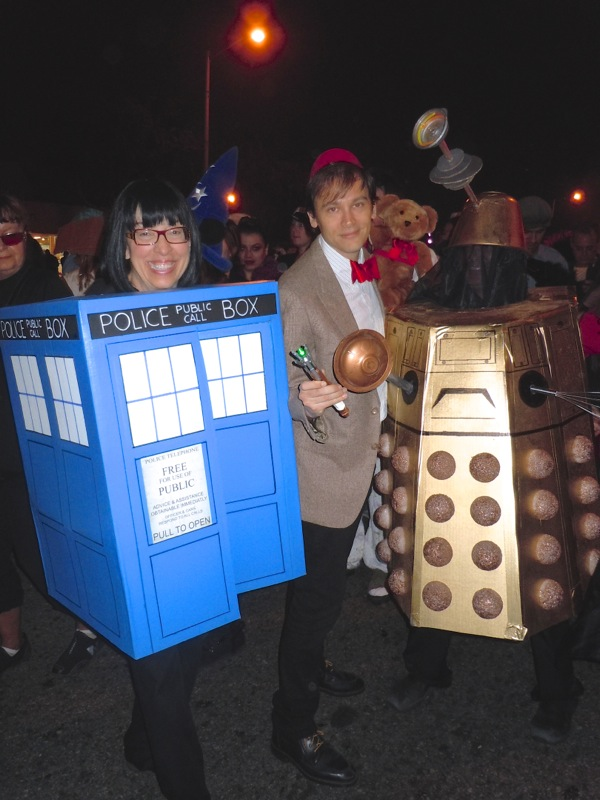 West Hollywood Halloween Doctor Who costumes