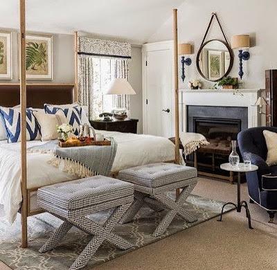 Decorar los dormitorios en primavera con elementos frescos y ligeros