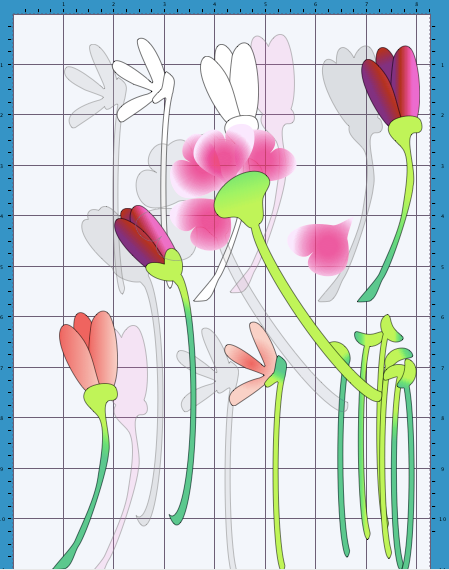Create in spain drawing pretty flowers to cut out in scal or now you may like to colour by hand either by printing the outline colouring and cutting or colouring after you have cut the shapes it makes little mightylinksfo