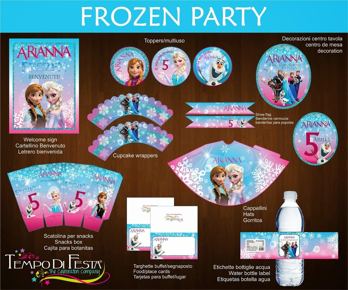 Amato Etichette Frozen Da Stampare GG52 » Regardsdefemmes LJ15