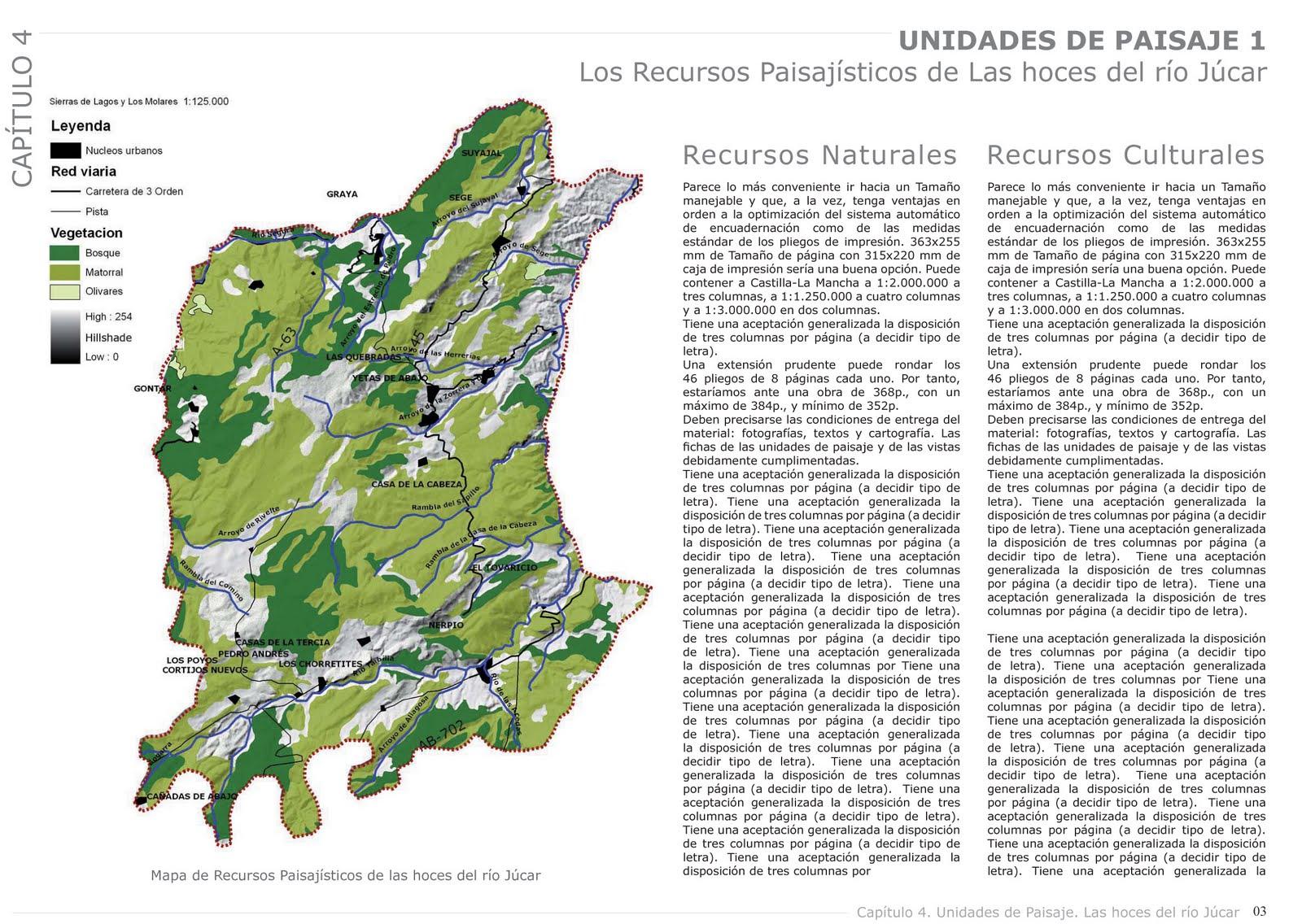 Ana Ceruti PAISAJISTA: Ordenación del territorio y planeamiento