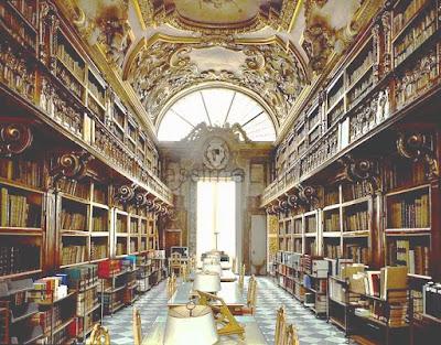 La Biblioteca Riccardiana in Florence