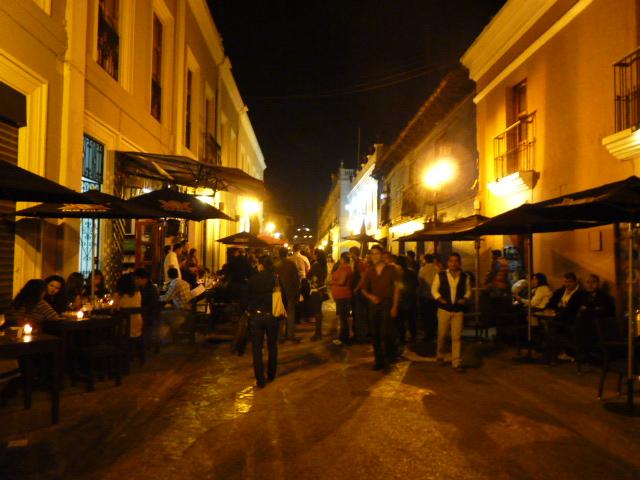 Ambiente nocturno San Cristobal de las Casas