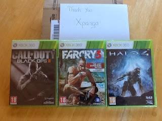 3 x free Xbox games