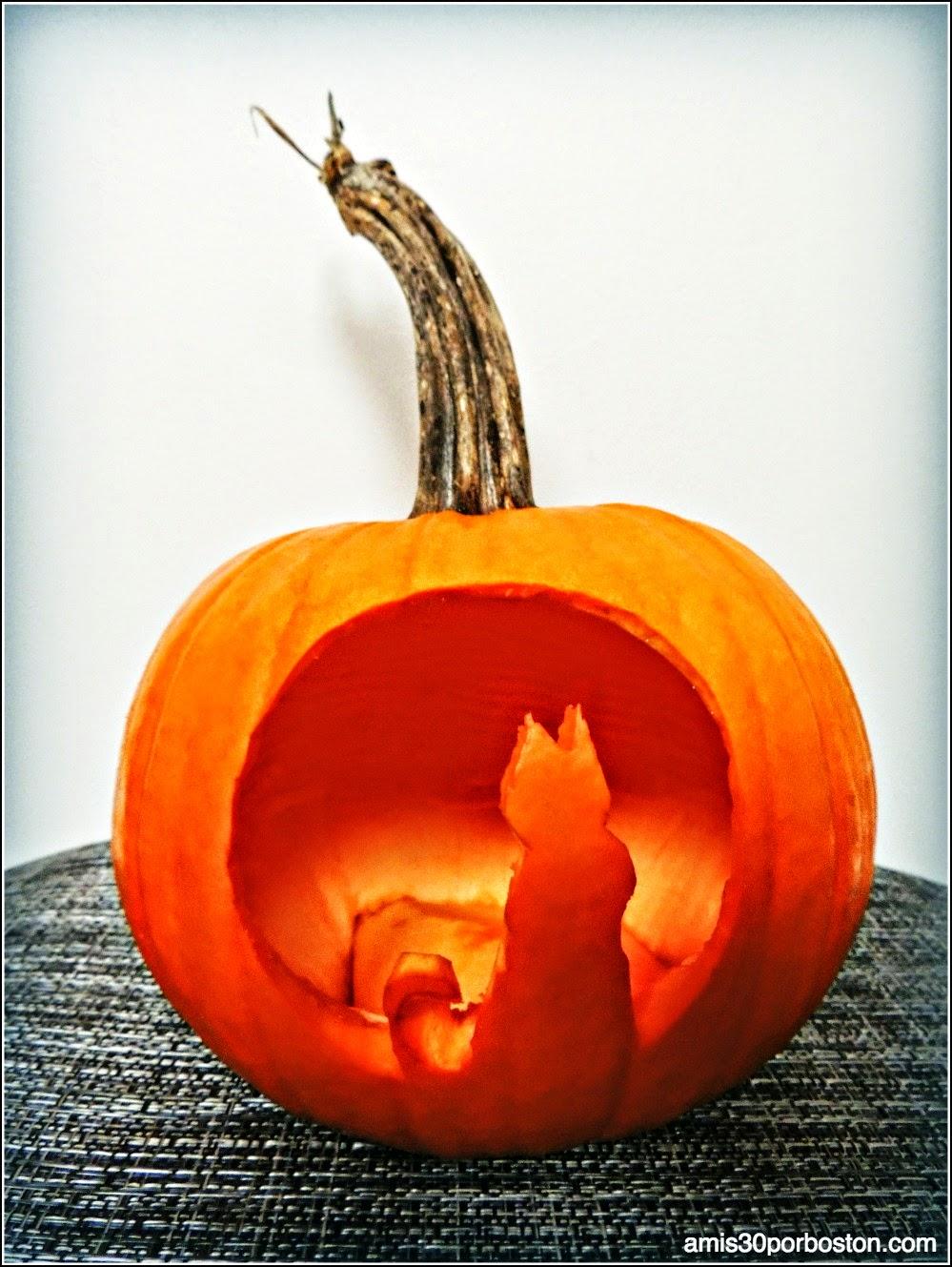 Calabazas decoradas para halloween - Disenos de calabazas ...
