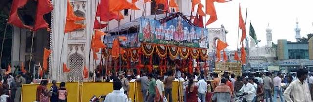 Bhagyalakshmi at Charminar is a legal temple