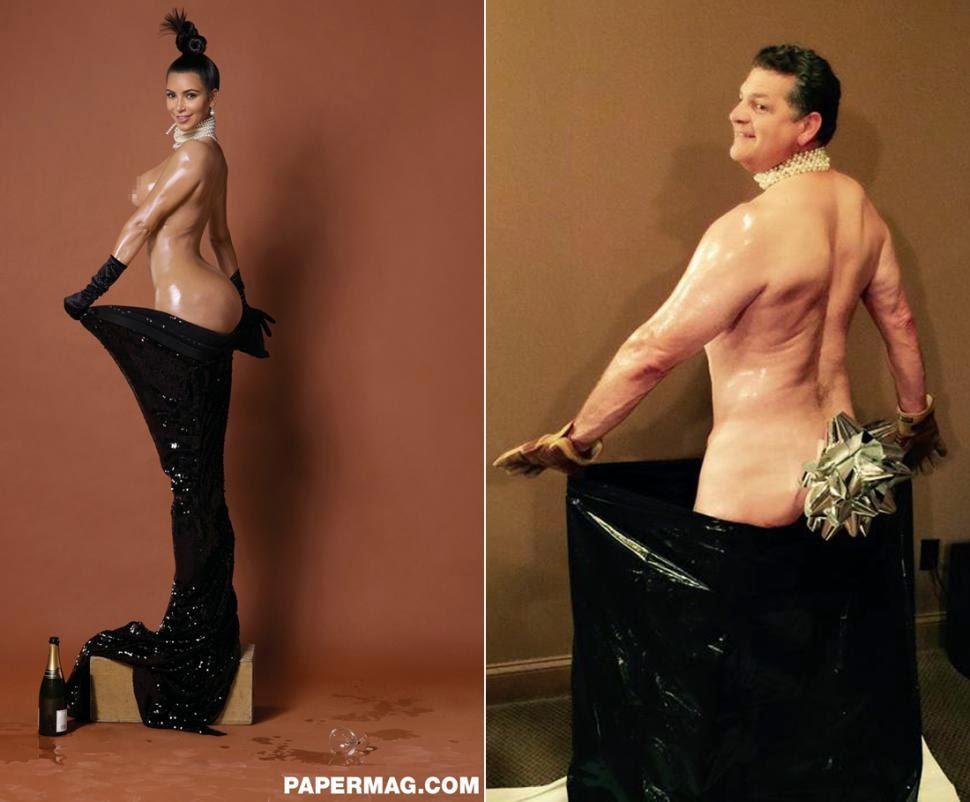 Photo Exhibition Buttocks Kim Kardashian Not Original