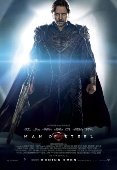 Man of Steel Poster  Russell Crowe