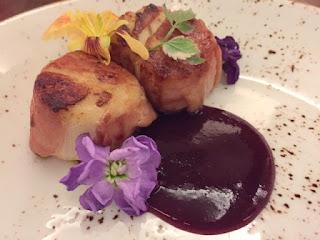Hilton Orlando, Orlando restaurants, scallops, ham, seafood, Orlando, Shad Bookout