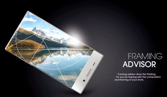 Sharp Smartphone Remove Super Thin Bezel Design