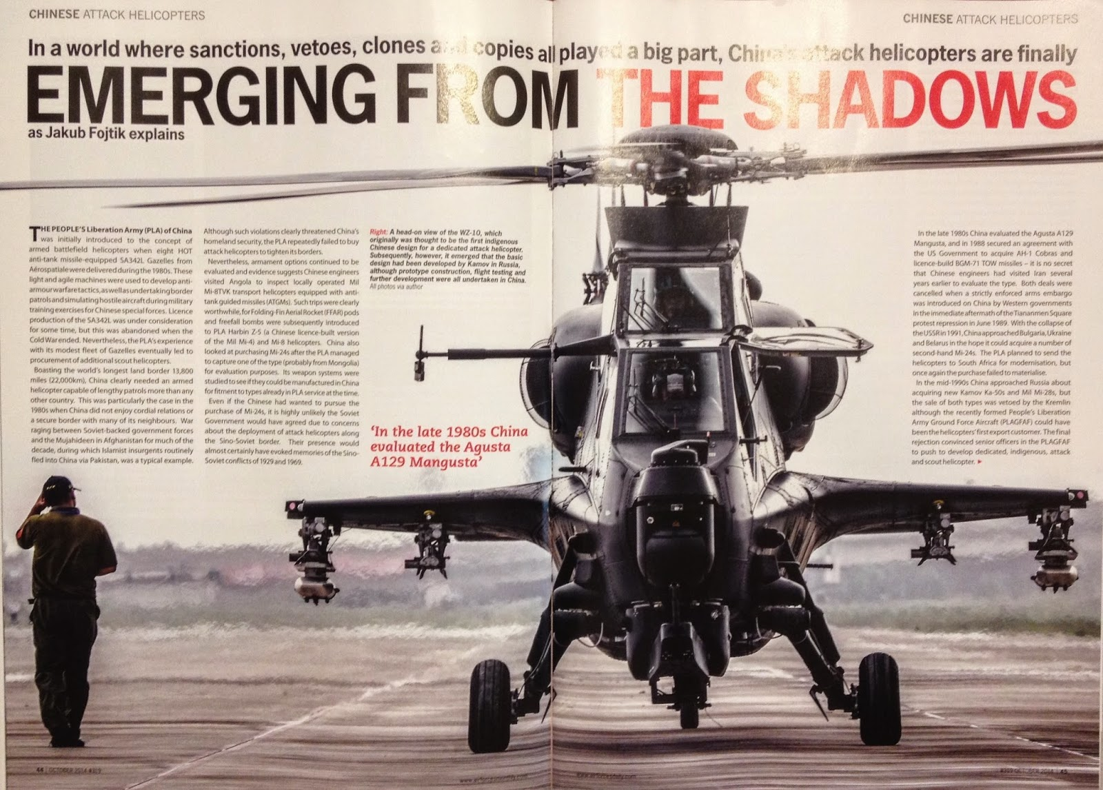 Chinese Attack Helicopters