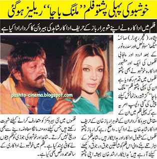 Pushto March Movie News