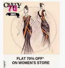 Buy Women's Clothing Flat 40% off + 40% Cashback on Rs. 699 at PayTM