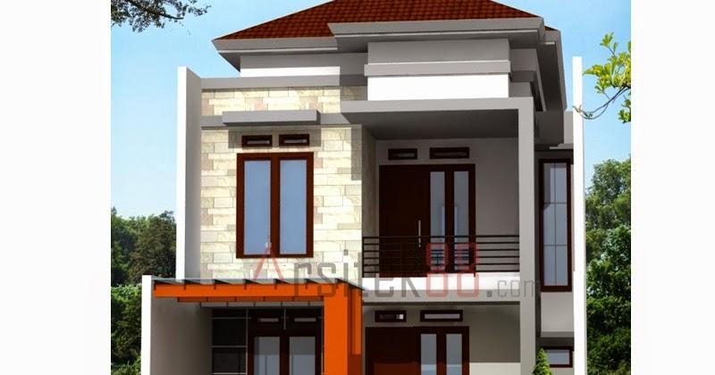Desain Rumah Minimalis 2 Lantai Ukuran 7 X 15 Gambar