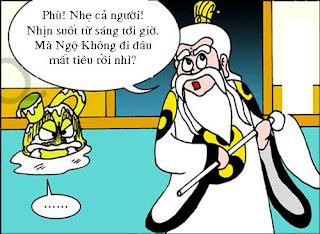 Tây Du Ký hài: Phép thuật như sư tổ
