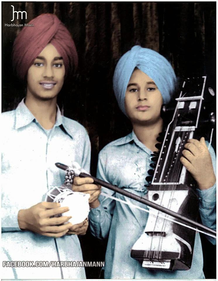 Harbhajan mann childhood